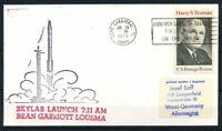 Stati Uniti 1973 Mi. 1106 Busta 100% SKYLAB lancio 7:11 BEAN GARRIOTT LOUS MA