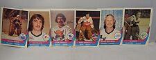 1977-78 O Pee Chee Hockey Cards Lot Of 6 Mcleod/Dryden/Garrett/Bromley/Smith