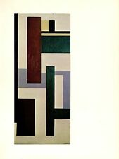 """1976 Vintage FERNAND LEGER """"MURAL COMPOSITION"""" FABULOUS COLOR offset Lithograph"""