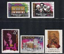SLOVENIA 1992/4 MUSIC/OPERA/COMPOSER/VIOLIN/TARTINI/BEETHOVEN/PAGANINI/BRAHMS