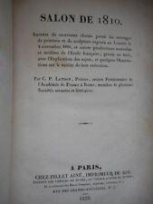 SALONS 1810 - 1812 - LANDON C.P.