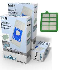 apto para Philips JEWEL fc9073/1 fc9074/1 fc9076/1 30 Pzs. + 1 FILTRO HEPA