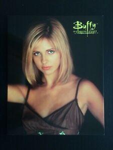 "Vintage Buffy The Vampire Slayer Original Large 10""x8"" Poster Postcard Unused."