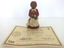 "New ListingAll God'S Children 5.5"" Annie Mae Figurine W/ Coa & Box"