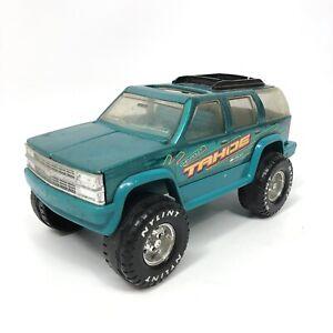 VTG Nylint Chevy Chevrolet Tahoe 1500 Truck Steel & Plastic Green Toy Truck 1996