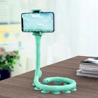 Caterpillar Lazy Bracket Mobile Phone Holder Stand Worm Flexible Suction New Cup