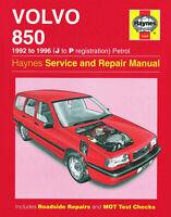 Volvo 850 2.0 2.3 2.5 Petrol 1992 - 1996 J to P Reg. Haynes Manual 3260