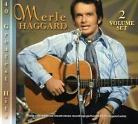 Merle Haggard - 40 Greatest Hits [New CD]