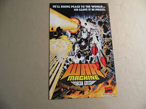 War Machine Ashcan Edition (Marvel 1994) Free Domestic Shipping