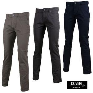 Pantaloni Uomo COVERI MOVING CU05 Modello Jeans 5 tasche Elastico GELSTORE
