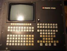 Pupitre NUM 750T 201504E-D