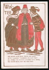 CANDEE ARCTICS Rubber Co Shoes Boots Winter Victorian Trade Card Harrisburg PA