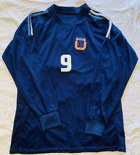 Vintage Argentina Soccer #9 Batistuta Away National Team Jersey Rare Long Sleeve