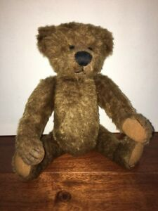 """Retired Teddy Bear Ganz Cottage Collectibles By Lorraine 13"""" 1999 Jointed Brown"""