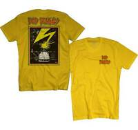 Bad Brains Front Logo Capitol Building Music Rock Yellow Mens T Shirt 13469-YEL