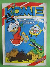 Greek Comics Walt Disney Komix 21 Terzopoulos 1990 March