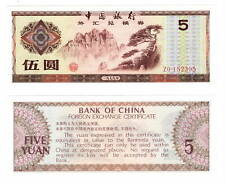 CHINA Foreign Exchange Certificate UNC 5 Yuan Banknote (1979) P-FX4 ZO prefix