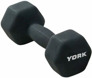 2KG (X 2) YORK Fitness NeO Hex coating Dumbbell,HOME GYM IN & OUTDOOR WORKOUT