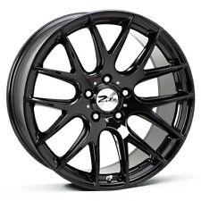 "NEW 18"" ZITO 935 ALLOY WHEELS IN GLOSS BLACK 5X100 VW MK 4 GOLF AUDI A3 MK1 TT"