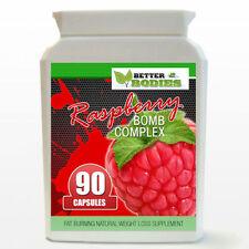 90 Bottle Raspberry Ketone BOMB Complex STRONG Weight Loss Detox Fat Burn Pills