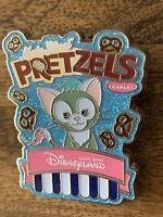 HKDL Popcorn and Pretzel Mystery Collection Gelatoni Disney Pin 126395