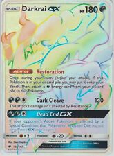 Pokemon Burning Shadows Darkrai GX 158/147 Secret Rare Card