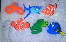 Finding Nemo, Finding Dory Shoe Charms! 7 Diff Pcs! For Clogs, Crocs, Bracelets,
