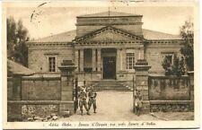 1930/39 Addis Abeba Banca d'Etiopia Colonie Eritrea Posta Aerea 20 c. FP B/N VG