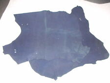 Navy suede hide great for apparel such as skirt,tops or hats beautiful and very
