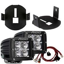 Rigid 46527 LED Fog Light Kit w/ D-Series PRO Dually Lights for 06-14 Ford F150