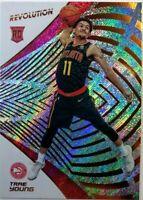 2018-19 Panini Revolution Trae Young Rookie RC #150, Atlanta Hawks