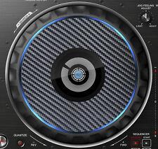 PIONEER CARBON FIBRE DDJ-RZ DDJ RZ JOG / SLIPMAT GRAPHICS / STICKERS CDJ DJM DDJ