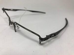 OAKLEY HALFSHOCK Eyeglasses Halfrim Mens OX3119-0453 Brushed Chrome PA84