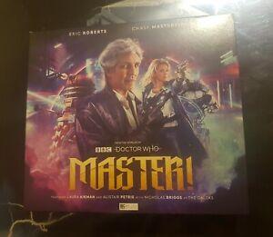 Doctor Who Master! Big Finish Cd