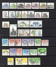 IRELAND 1983 ARCHITECTURE TO £1 + 1990 HERITAGE TO £2 GOOD-FINE USED SHORT SETS