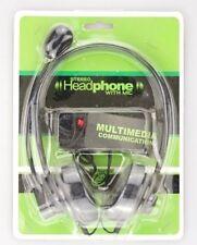 Communication Headset Stereo Headphone gepolstert Kopfhörer mit Klinkenstecker