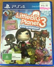 🔥LITTLE BIG PLANET 3 PS4 PLAYSTATION 4 EXTRAS EDITION VIDEO GAMES🌠 FREE POST📮