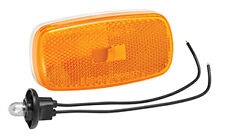 Bargman #59 AMBER Clearance Light w/ base for RV / Camper / Trailer
