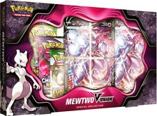 Mewtwo V-Union Special Collection Pokemon Box (4 Packs + Promos) TCG NEW SEALED