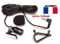 Micro bluetooth voiture pour autoradio et gps avec prise 3.5mm microphone