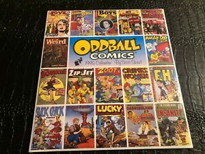 1995 WALL CALENDAR (UNUSED-SEALED) 12x13 ODDBALL COMIC COVERS