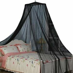Bed Canopy, Black Color Mosquito Net for Indoor/Outdoor, Camping or Bedroom