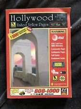 Hollywood United Yellow Pages 1996-97 West Hollywood Los Feliz Telephone