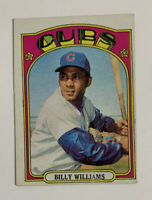 1972 Topps Billy Williams # 439 Baseball Card Chicago Cubs HOF