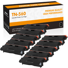 10PK High Yield TN560 Toner Compatible for Brother MFC-8890DW 8680DN DCP-8890DW