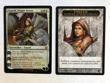 Mtg Magic the Gathering Modern Masters 2013 Elspeth, Knight-Errant FOIL + token