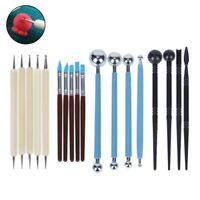 18pcs Soft Clay Shaping Tool Stylus Fine Dotting Tools Carving Embossing Set DL5