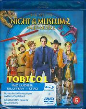 NIGHT AT THE MUSEUM 2 - BLU-RAY + DVD - BEN STILLER - NIEUW SEALED