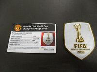 MANCHESTER UNITED DIVISA PARCHE FIFA MUNDO CAMPEONES 2008