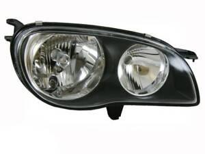 RHS Headlight suits Toyota Corolla 1999-01 AE112 Seca & Conquest Hatch & Sedan A